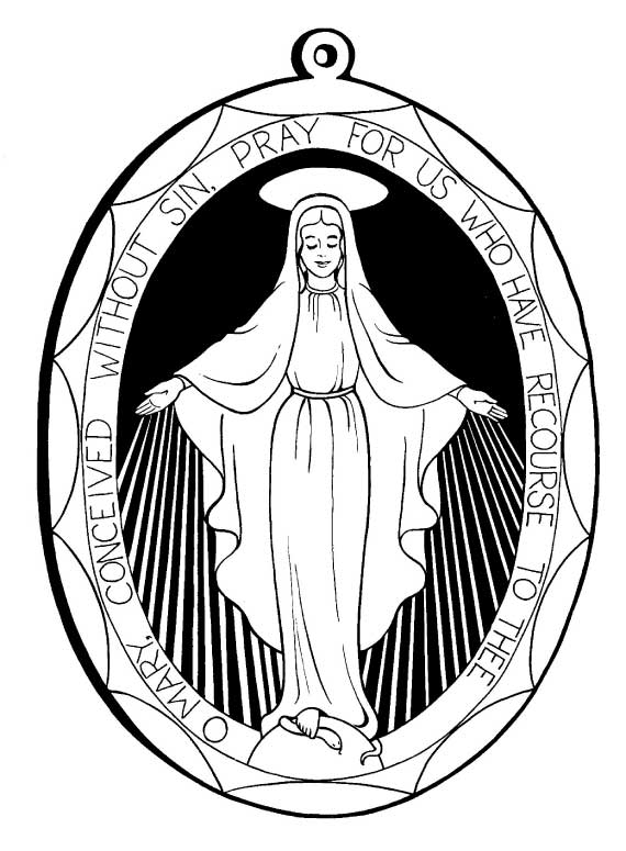 catholic all saints coloring pages - photo#26