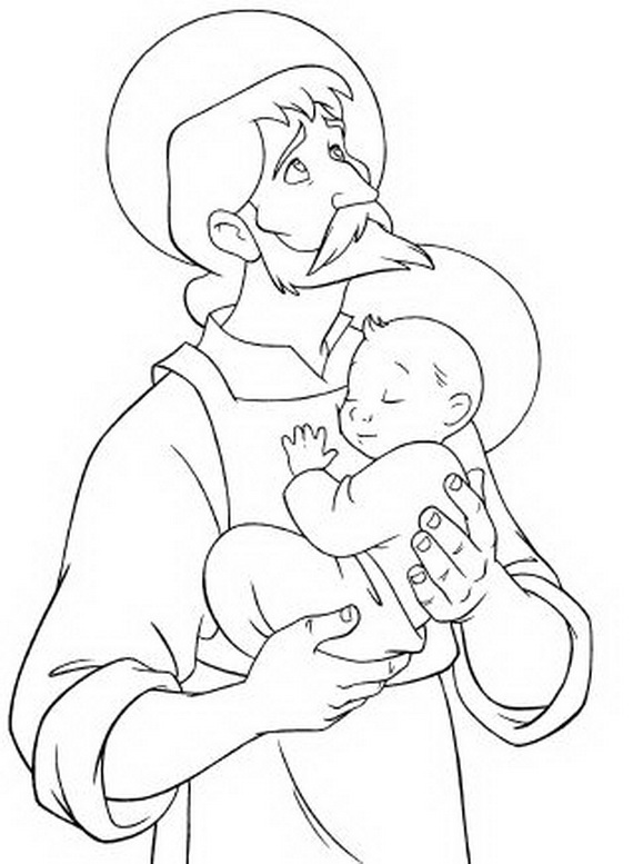 catholic all saints coloring pages - photo#34