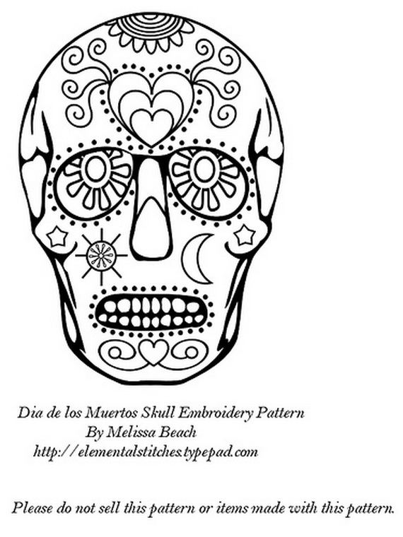 Day Of The Dead Coloring And Craft Activities Family
