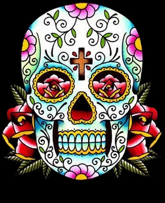 day of the dead craft skull designs family to family holidays on the internet. Black Bedroom Furniture Sets. Home Design Ideas