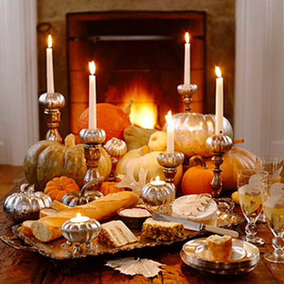 Easy and elegant thanksgiving handmade centerpieces Happy thanksgiving decorations