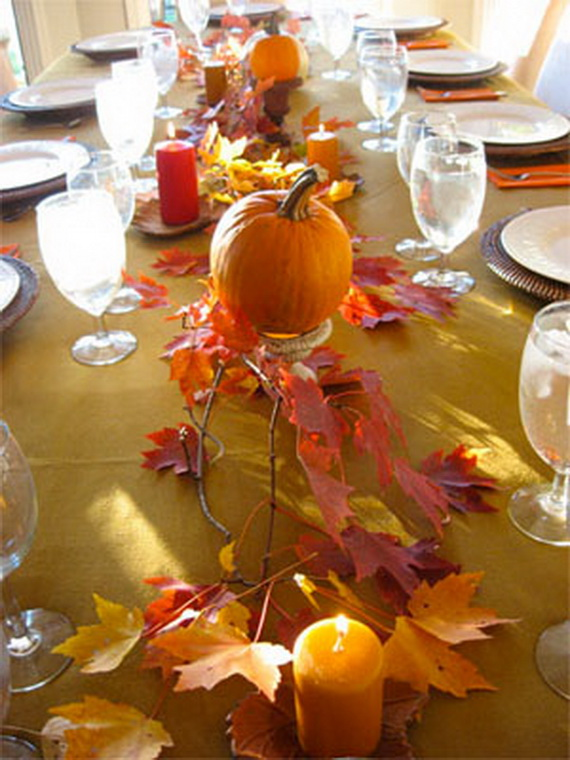 Easy and elegant thanksgiving handmade centerpieces Thanksgiving table decorations homemade