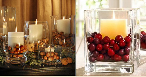 Easy and elegant thanksgiving handmade centerpieces