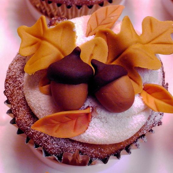 Cupcake Decorating Ideas Thanksgiving : Easy Adorable Thanksgiving Cupcake Decorating Ideas ...