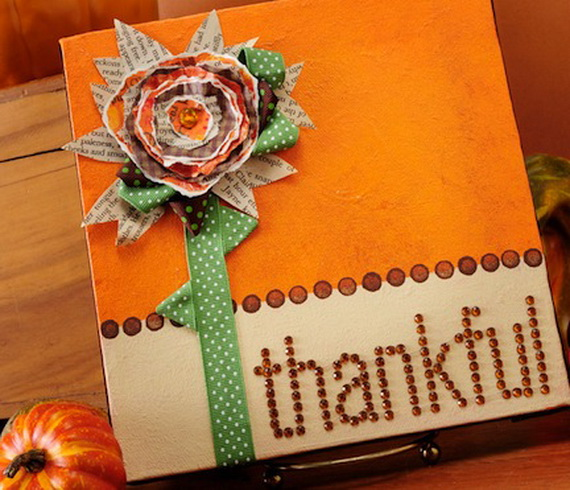 Easy thanksgiving craft project ideas family for Art and craft file cover decoration