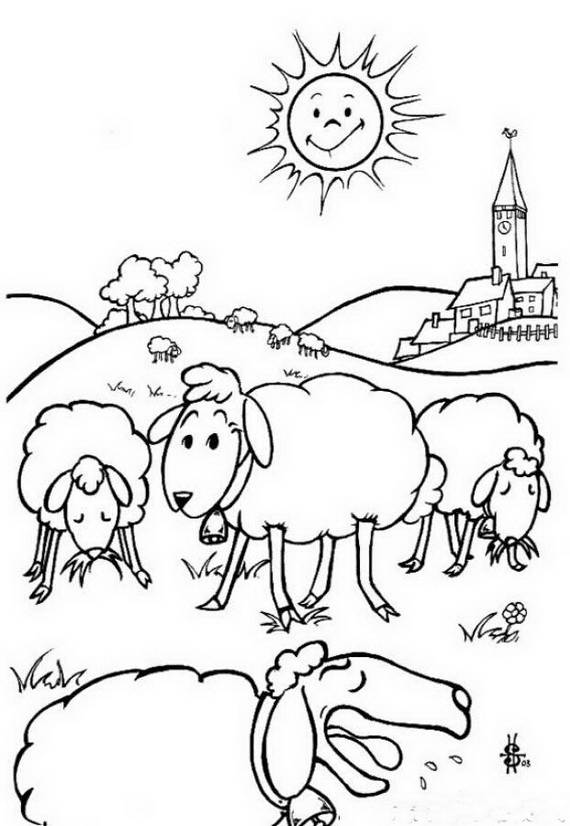 muslim holidays coloring pages - photo#40