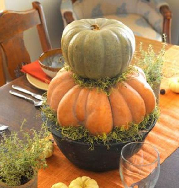 Pumpkin Topiary Ideas Part - 24: Elegant-pumpkin-topiaries-decorating-ideas-_20