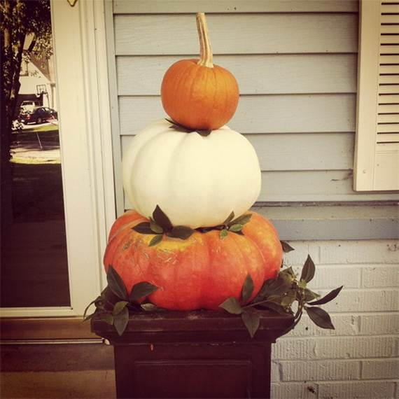 Pumpkin Topiary Ideas Part - 37: Elegant-pumpkin-topiaries-decorating-ideas-_42