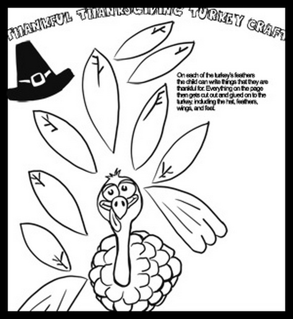Free Coloring Sheets for Thanksgiving - family holiday.net/guide to ...