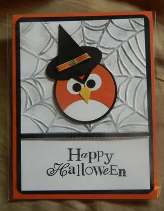 Charming Halloween Card Making Ideas Part - 11: ... Ideas-for-making-elegant-homemade-halloween-cards-35 .