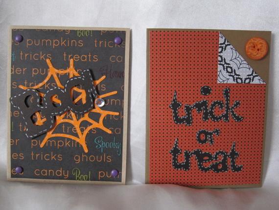 Ideas For Making Elegant Homemade Halloween Cards Family