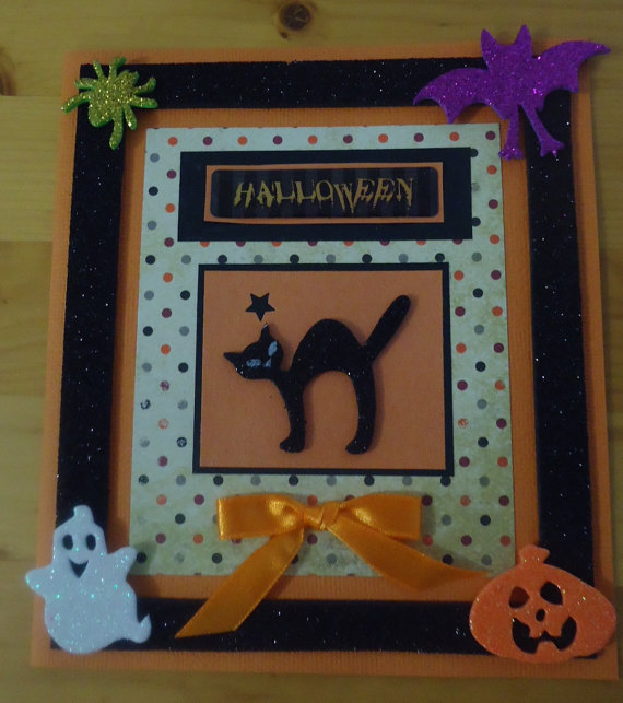 Ideas For Making Elegant Homemade Halloween Cards Family Holiday