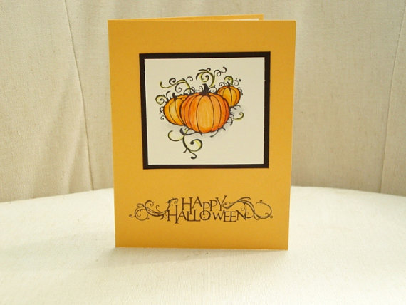 ideas for making elegant homemade halloween cards 35