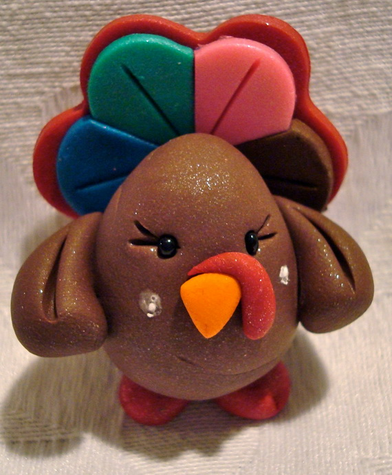 polymer clay thanksgiving craft projects for adults