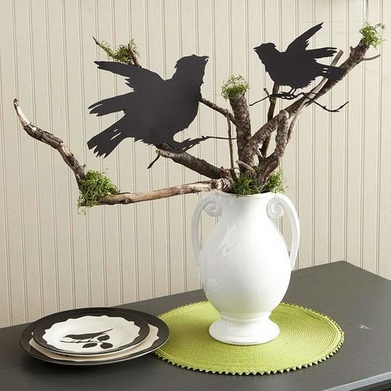 Quick and clever halloween centerpieces family