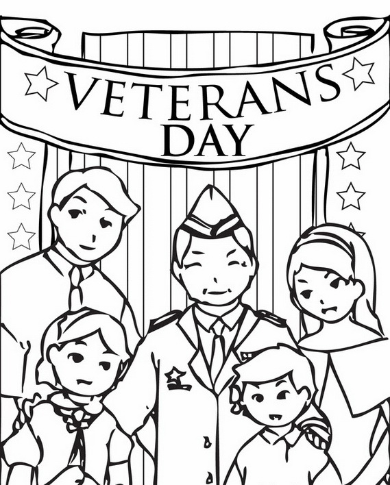 remembrance day or veterans day coloring pages an important