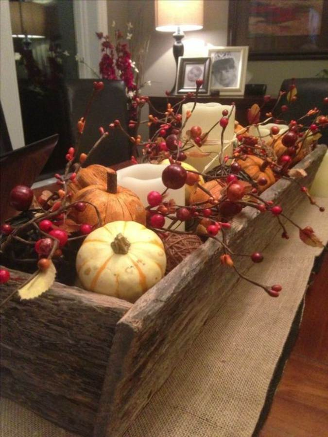 Thanksgiving floral centerpiece ideas family holiday