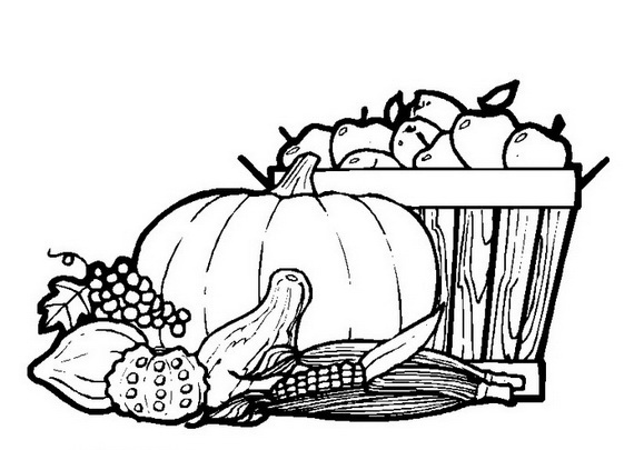 related posts rosh hashanah coloring pages - Thanksgiving Color Pages