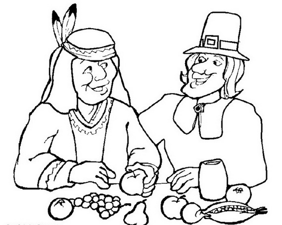 thanksgiving coloring pages family fun | Thanksgiving Coloring Pages for Kids - family holiday.net ...