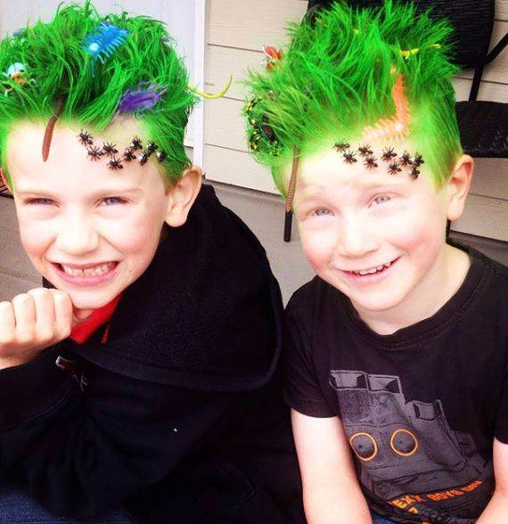 Magnificent Top 50 Crazy Hairstyles Ideas For Kids Family Holiday Net Guide Hairstyle Inspiration Daily Dogsangcom