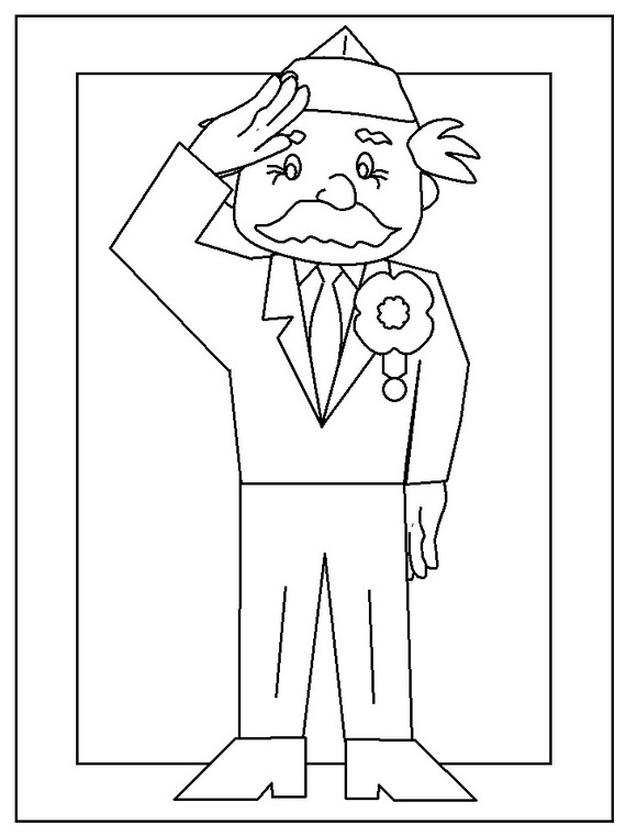 Veterans Day Coloring Pages for