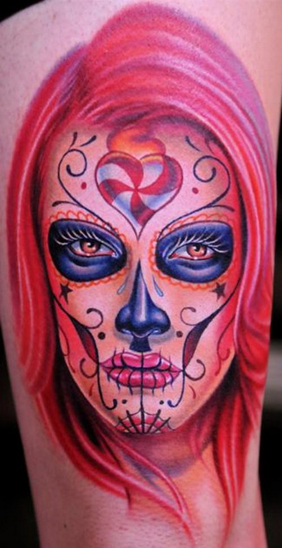 Day of Dead Tattoo Designs