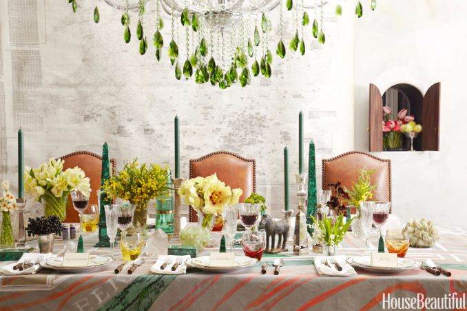 malachite-tablescape