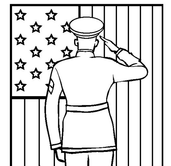 Add Fun Veterans Day Coloring