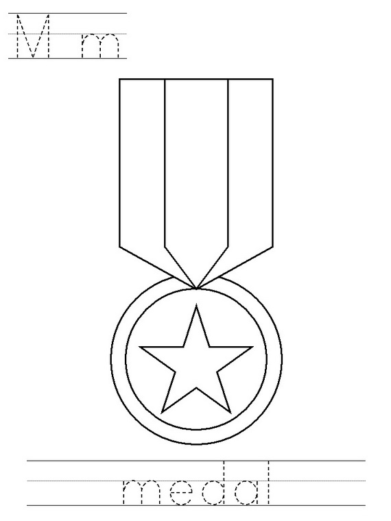 medal of honor coloring pages - photo#14