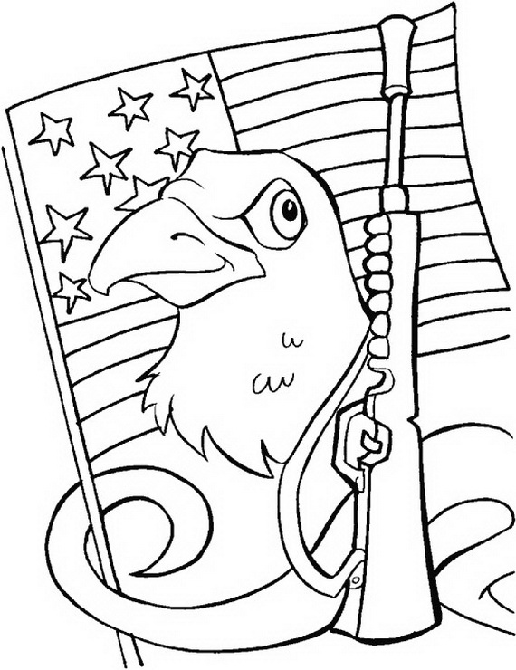 Veterans Day Coloring Pages Sketch Coloring Page