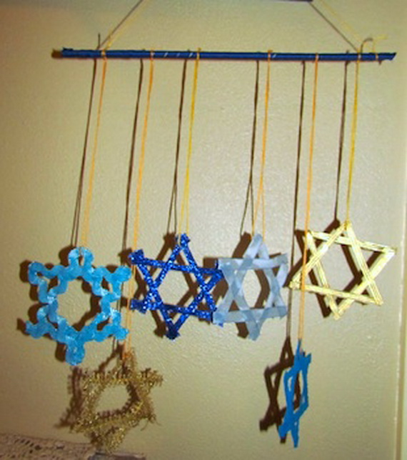 Beautiful Homemade Hanukkah Ornaments Decoration Ideas