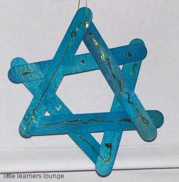 Beautiful Homemade Hanukkah Ornaments Decoration Ideas Family