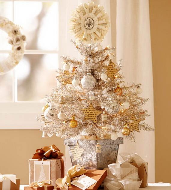 beautiful_ tabletop_ christmas _trees_ decorating_ ideas designs__092