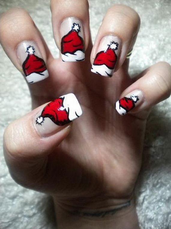 Nail Design Ideas 2012 glossy neon colored chrostmas light nail design ideas Images Source