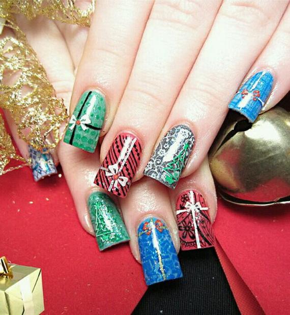 Cute Easy Christmas Nail Designs: Best, Cute & Amazing Christmas Nail Art Designs, Ideas