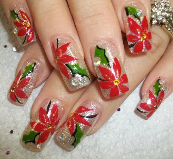 Christmas Nail Art Designs Gallery: Best, Cute & Amazing Christmas Nail Art Designs, Ideas