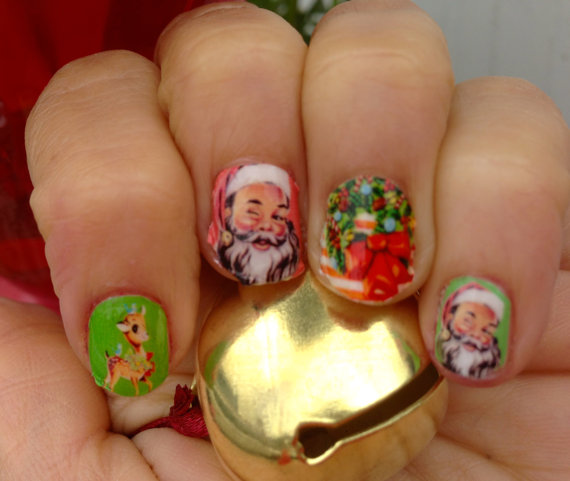 Christmas 2013 Nail Art: Best, Cute & Amazing Christmas Nail Art Designs, Ideas