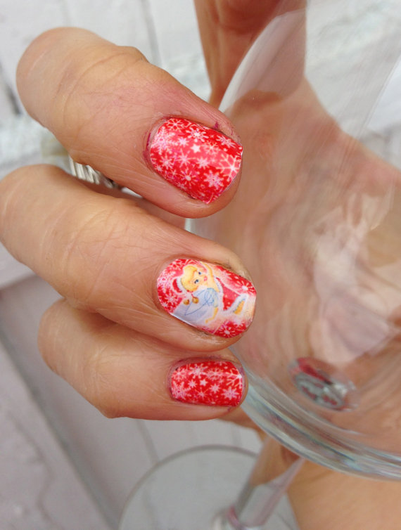 Best cute amazing christmas nail art designs ideas pictures images source prinsesfo Choice Image