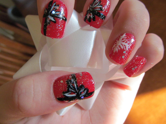 Best, Cute & Amazing Christmas Nail Art Designs, Ideas & Pictures ...