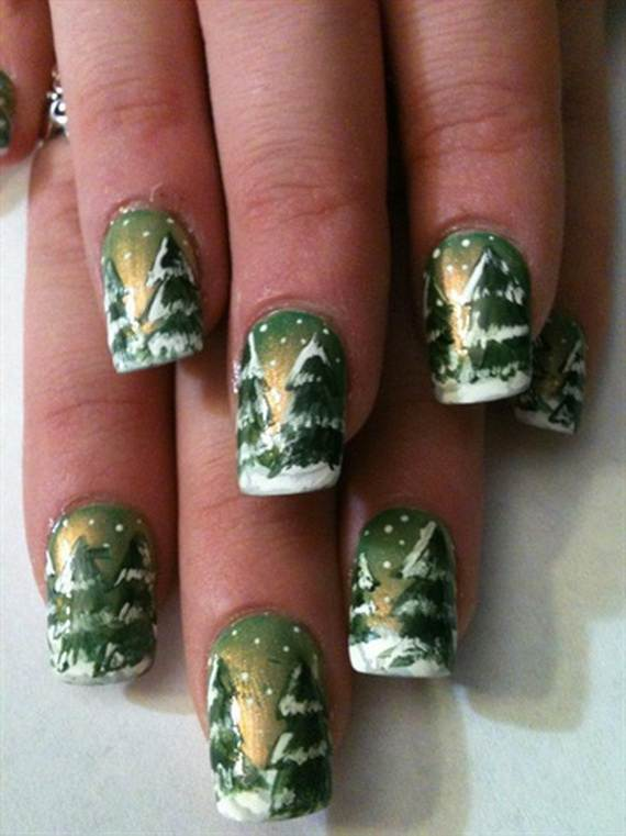Best-Easy-Simple-Christmas-Nail-Art-designs-Ideas_17
