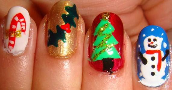 Best-Easy-Simple-Christmas-Nail-Art-designs-Ideas_2
