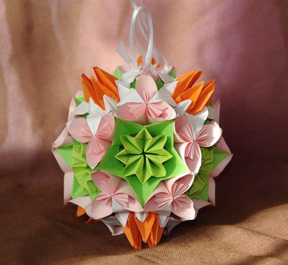 Christmas handmade paper craft decorations family for Art and craft decoration