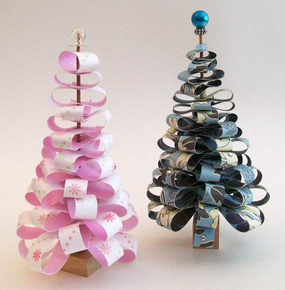 christmas handmade paper craft decorations_30