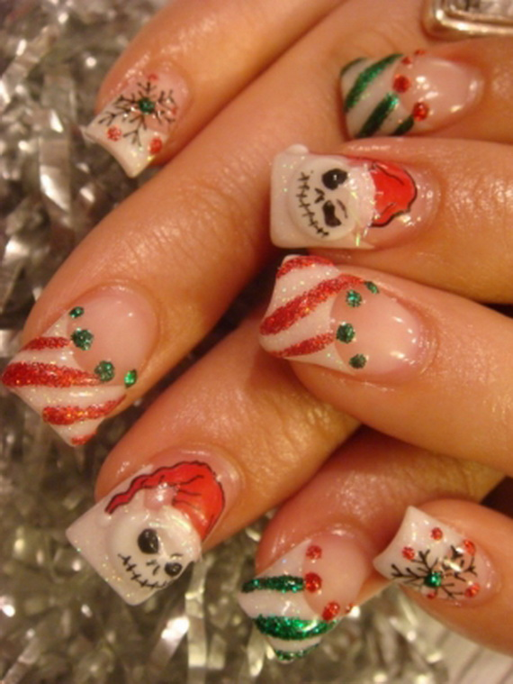 Christmas Holiday Nail Art Designs Amp Ideas You Ve Never Seen Family Holiday Net Guide To