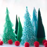 Beautiful Tabletop Christmas Trees Decorating Ideas & Designs