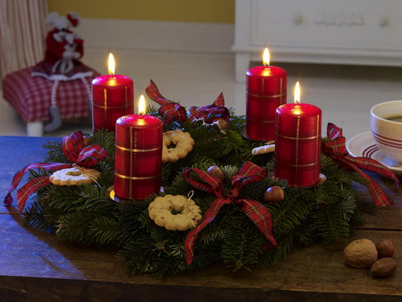 Creative Candle Decorating Ideas For Christmas Family