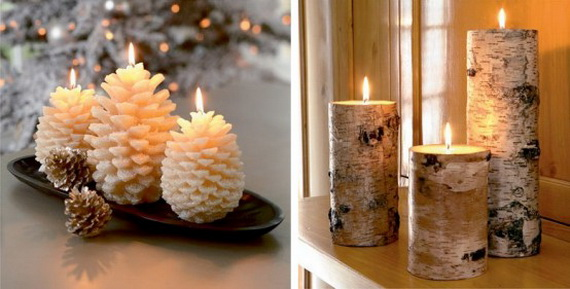 Creative Candle Decorating Ideas for Christmas - family holiday.net ...