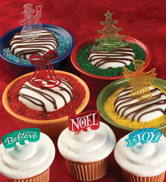 Christmas Cupcake Decorating Ideas Pinterest : Cupcakes Decorating Ideas for Christmas and Special ...