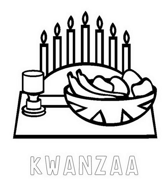 December Holiday Kwanzaa coloring pages family holidaynetguide – Kwanzaa Worksheets