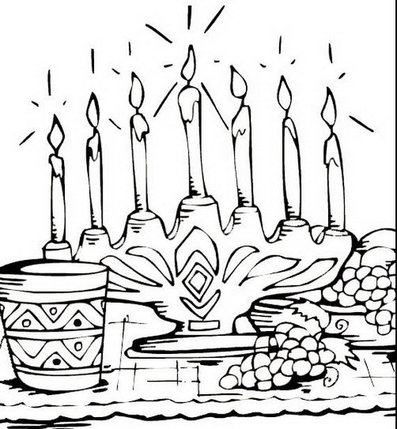December Holiday Kwanzaa Coloring Pages Family Holidaynetguide - Kwanzaa-coloring-pages